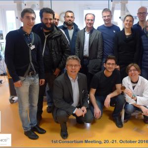 20-21 October 2016: INNODERM First Consortium Meeting