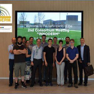 6-7 June 2017: Second INNODERM Consortium Meeting