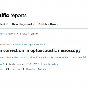 4 September 2017: INNODERM publication in Nature Scientific Reports
