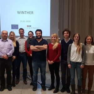 22 January 2020: INNODERM follow-up project WINTHER Kickoff