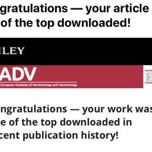 4 May 2020: Hindelang et al. 2018 recieves award from Wiley Publishing