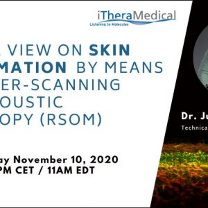 10 November 2020: INNODERM Webinar series continues with Dr. Juan Aguirre