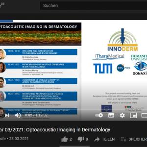 23 March 2021: Optoacoustic Imaging in Dermatology webinar recap